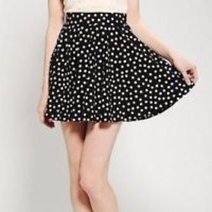 Flowy Polka Dot Skirt